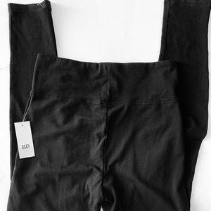 BP Black Size M Stretch High Rise Cotton Legging